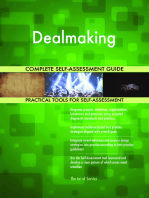 Dealmaking Complete Self-Assessment Guide