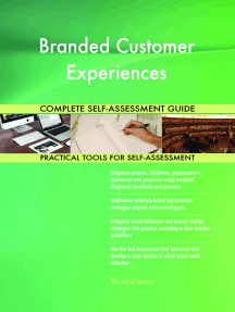 Branded Customer Experiences Complete Self-Assessment Guide