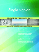 Single sign-on Complete Self-Assessment Guide