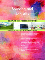 Sourcing and Logistics Complete Self-Assessment Guide