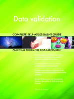 Data validation Complete Self-Assessment Guide