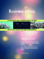Business ethics Complete Self-Assessment Guide