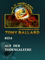 Tony Ballard #124 - Auf der Todesgaleere
