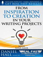 From Inspiration to Creation in Your Writing Projects