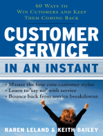 Customer Service In An Instant
