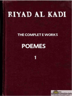 "RIYAD AL KADI ""THE COMPLETE WORKS"" 1"