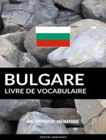Livre de vocabulaire bulgare