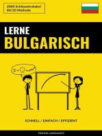 Lerne Bulgarisch