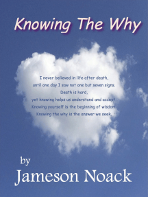 Knowing The Why