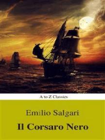 I corsari delle Antille #1: Il Corsaro Nero (Navigazione migliore, TOC attivo) (Classici dalla A alla Z)