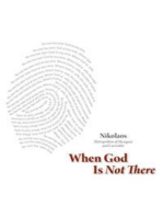 When God Is Not There
