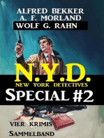 Sammelband 4 Krimis N.Y.D. - New York Detectives Special #2