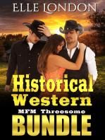Historical Western MFM Threesome Bundle