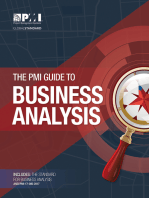The PMI Guide to Business Analysis
