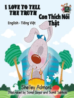 I Love to Tell the Truth Con Thích Nói Thật (English Vietnamese Kids Book)