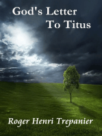God's Letter To Titus