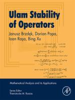 Ulam Stability of Operators