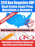 2018 New Hampshire AMP Real Estate Exam Prep Questions and Answers