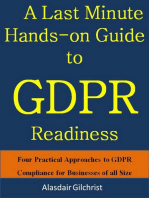 A Last Minute Hands-on Guide to GDPR Readiness