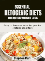 Essential Ketogenic Diets for Quick Weight Loss