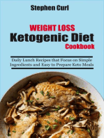 Weight Loss Ketogenic Diet Cookbook