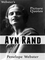 Webster's Ayn Rand Picture Quotes