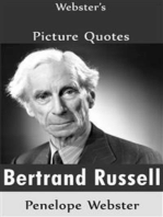 Webster's Bertrand Russell Picture Quotes
