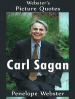 Webster's Carl Sagan Picture Quotes