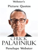 Webster's Chuck Palahniuk Picture Quotes
