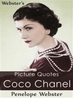 Webster's Coco Chanel Picture Quotes