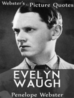 Webster's Evelyn Waugh Picture Quotes