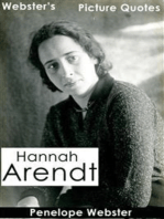 Webster's Hannah Arendt Picture Quotes