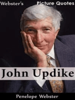 Webster's John Updike Picture Quotes