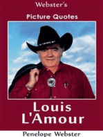 Webster's Louis L'Amour Picture Quotes