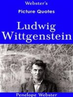 Webster's Ludwig Wittgenstein Picture Quotes