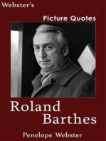 Webster's Roland Barthes Picture Quotes