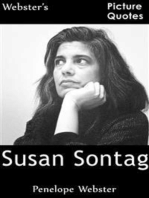 Webster's Susan Sontag Picture Quotes