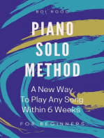 Piano Solo Method For Beginners | A New Way To Play Any Song Within 6 Weeks