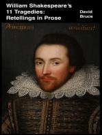 William Shakespeare's 11 Tragedies