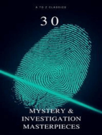 30 Mystery & Investigation Masterpieces (Active TOC) (A to Z Classics)