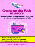 Create un sito Web in un'ora
