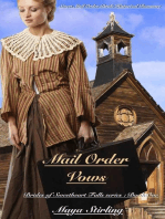 Mail Order Vows (Sweet Mail Order Bride Historical Romance Novel)