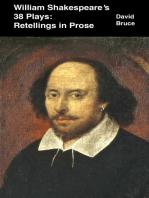 William Shakespeare's 38 Plays