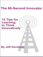 12 Tips for Learning to Think Innovatively