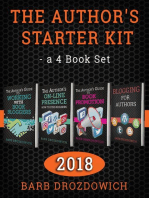 The Author's Starter Kit - A 4 Book Set