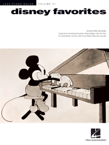 Disney Favorites: Jazz Piano Solos Series Volume 51