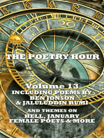 The Poetry Hour - Volume 13