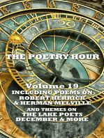 The Poetry Hour - Volume 19