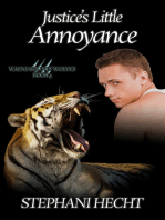 Justice's Little Annoyance (Wayne County Wolves #4)