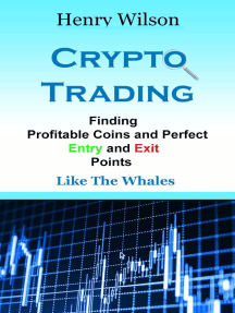Finding entries and exits in cryptocurrency